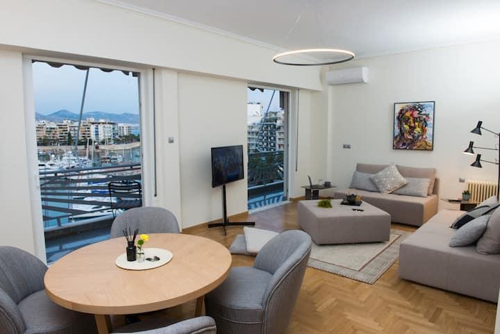 Piraeus Seaview Elegant Apartment