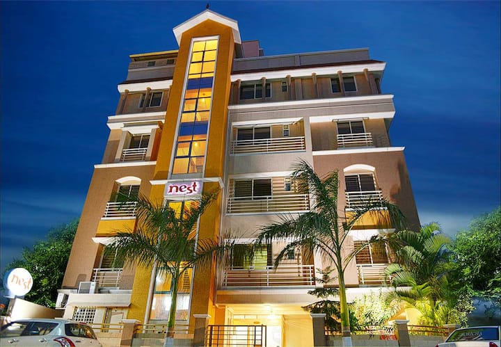 The Nest Service Apartments (1BHK) 2