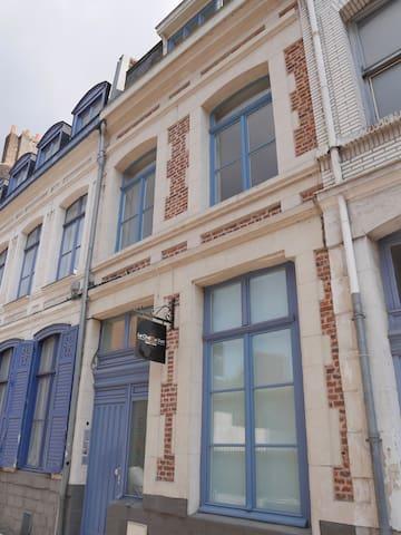 Le Beffroi, Duplex apartment Vieux Lille