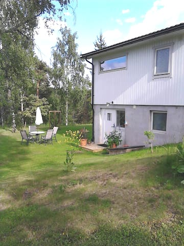 Own apartment in villa at Talludden Nacka