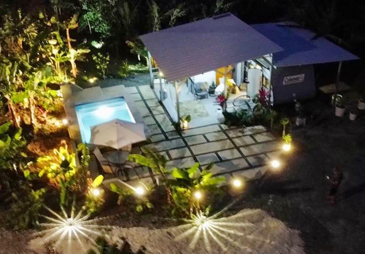 West Oasis, Urban deluxe  private campsite.