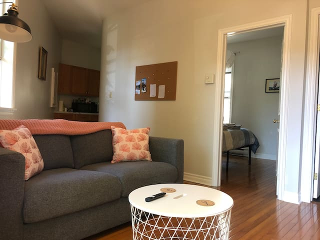 Beautiful Second Floor Apartment in the Downtown