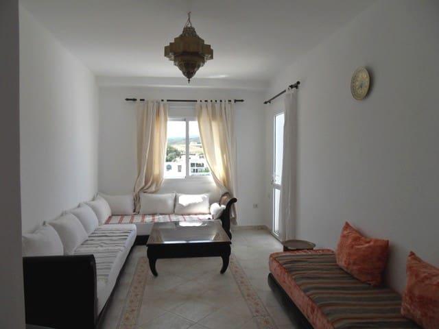 Apartamento en primera linea de la playa - Fnideq - Huoneisto