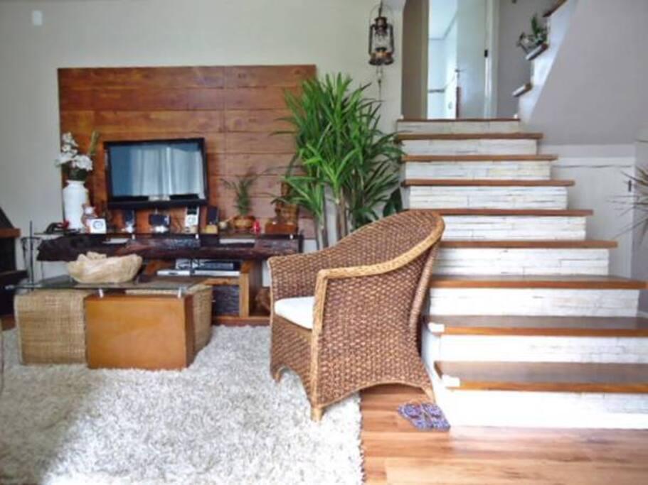 Living Acesso quarto ( escadas)