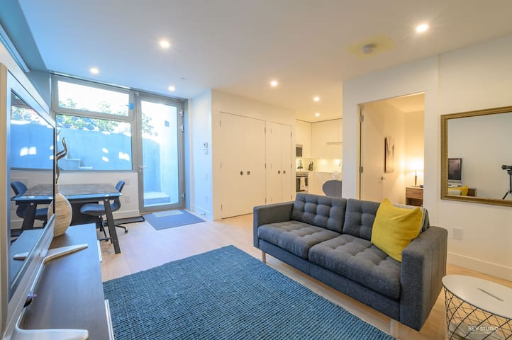 Bright and private suite on Vancouver's Westside.