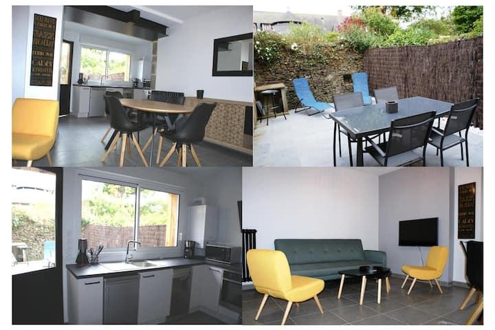 Appartement neuf avec jardin centre Dol de Bgne