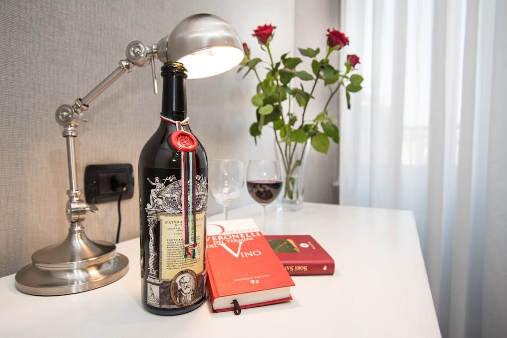 Più di 100 etichette di vini nazionali
