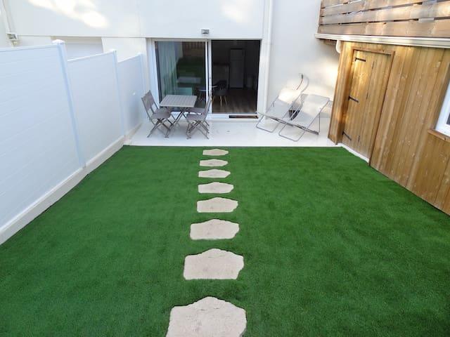 Arcachon rez de jardin 4 à 6 pers jardin privé - Arcachon - Apartment