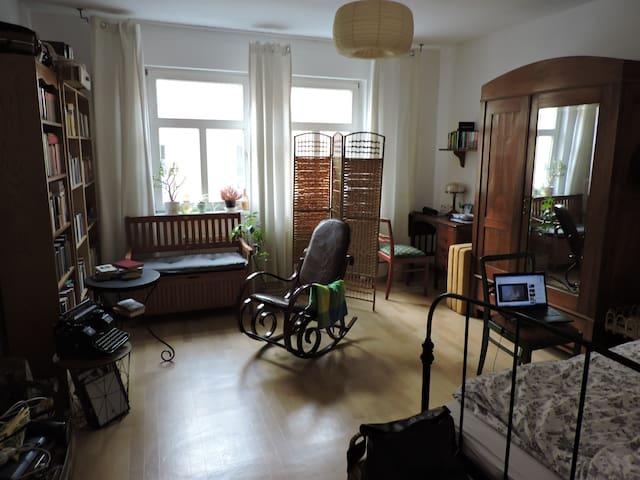 Gemütliches 19m2 Zimmer, 10 Minuten zum Zentrum - Jena - Departamento