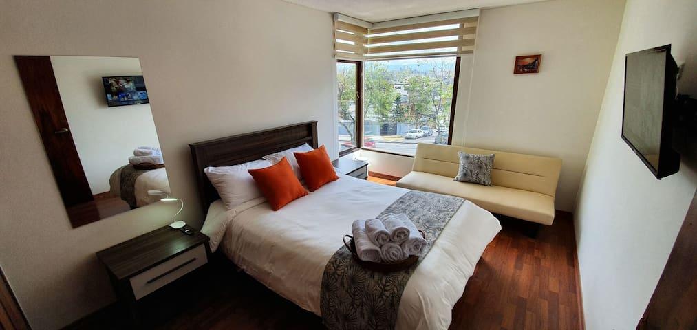 Beautiful View in Bogota Room/Koralie Hosting/3per