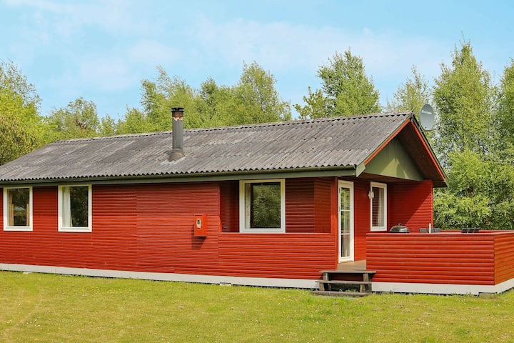 Charming Holiday Home in Hadsund with Terrace