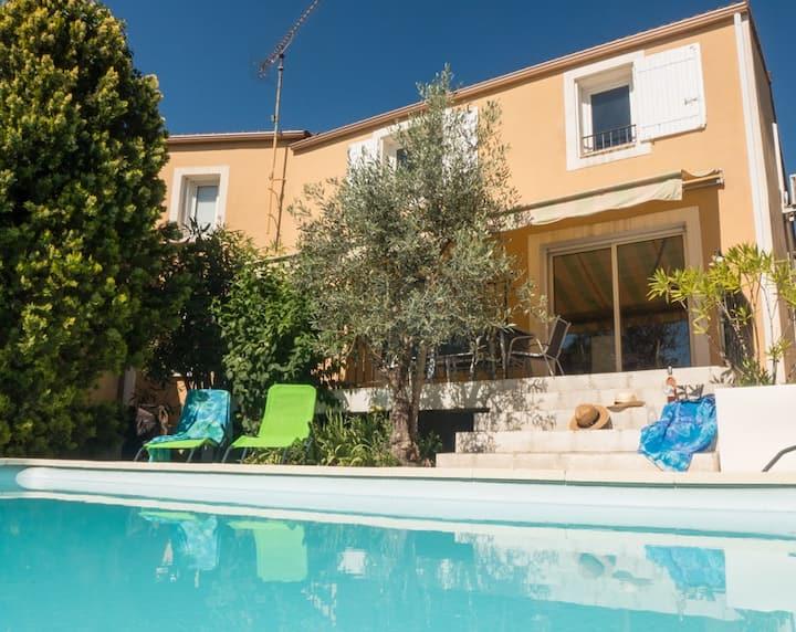 Belle maison calme piscine privée