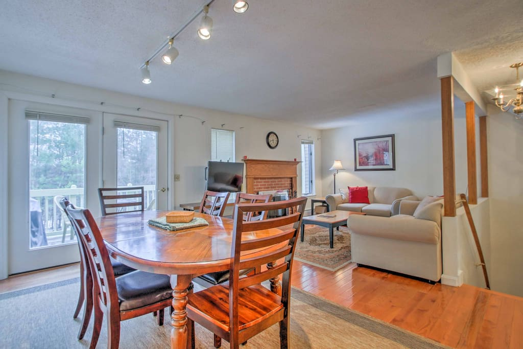 The main living space offers a bright, open layout.