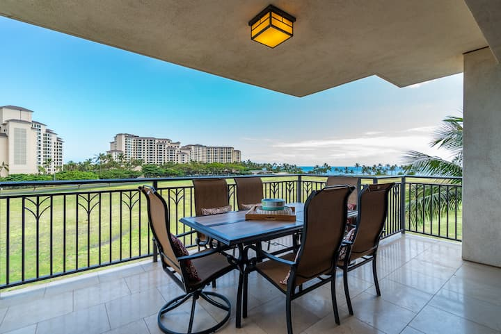 Ocean Tower 4th Fl Ko Olina Beach Villa: Pool, Hottub, Gym, Free Wifi, Beach!