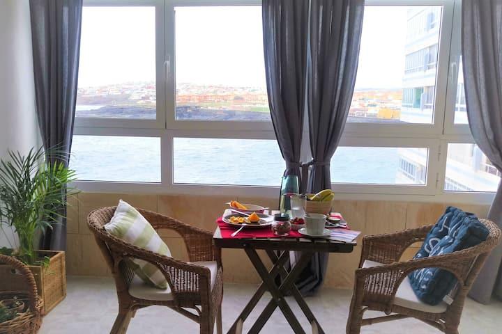 El balcón al Mar: Central area, Playa/Beach WIFI