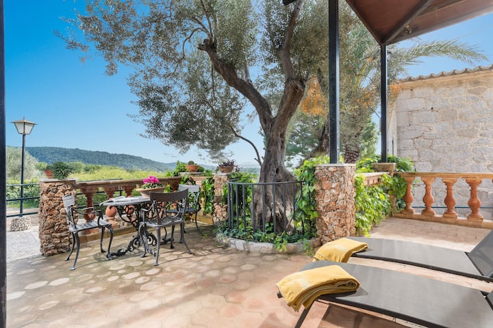 MONNABER NOU-APARTAMENTO SUPER - Apartment with shared pool in Campanet. Free WiFi