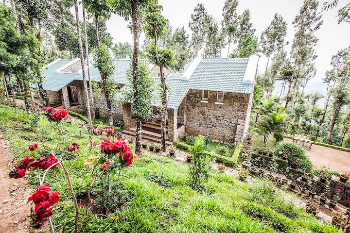 Stone Cottage in Munnar - Munnar - Chambre d'hôtes