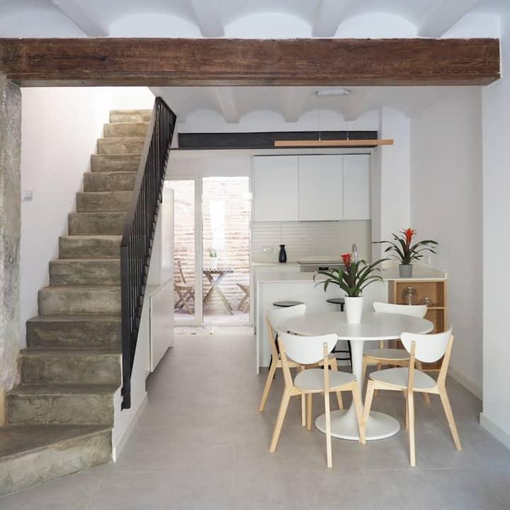 Moderna y espaciosa Casa  en El Cabañal