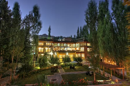 The Silk Route Ladakh - Deluxe Room with breakfast