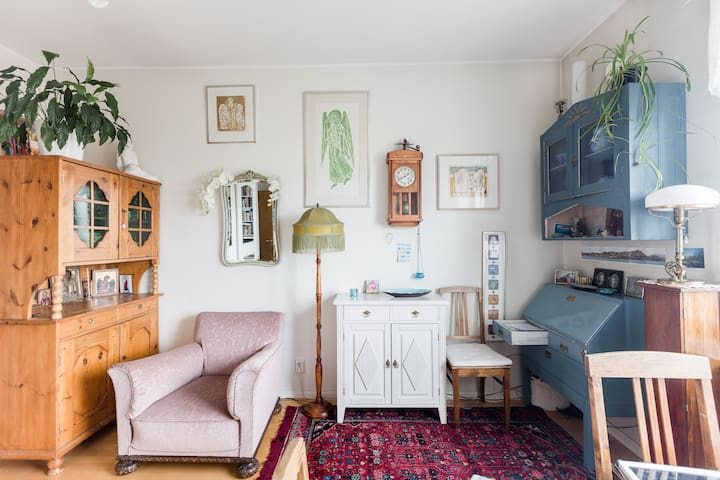 Gorgeous, bohemian, central - Helsinki - Apartament