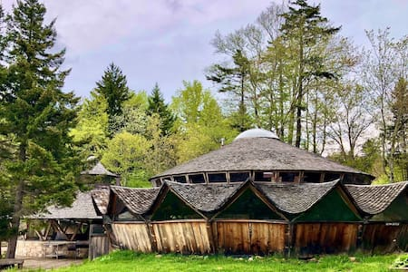 Rustic Yurt — Choose Your Own Adventure!