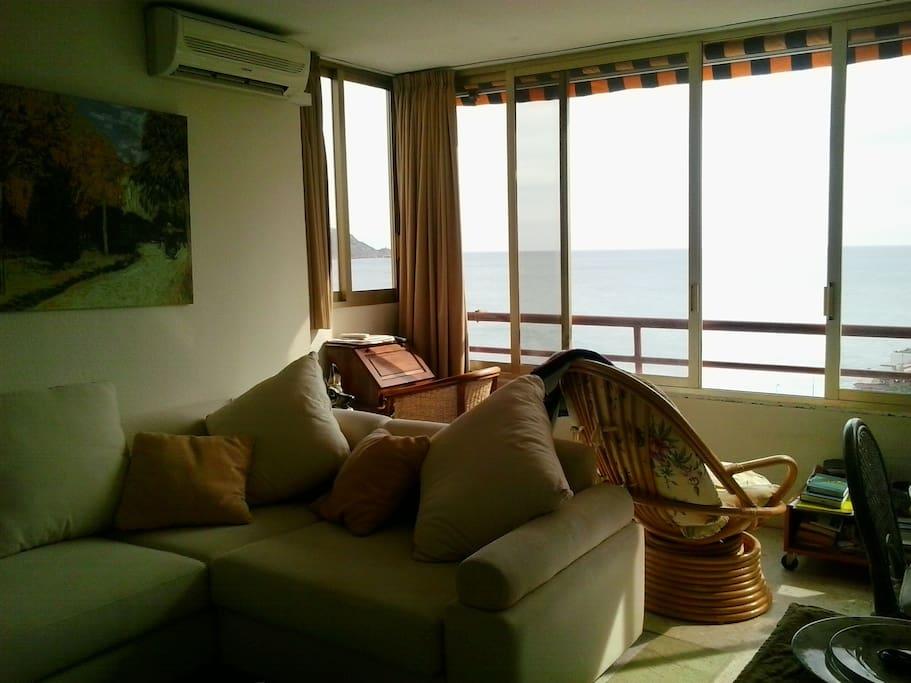 Playa de poniente la cala coqueto apartamento flats for rent in benidorm comunidad - Apartamentos en benidorm playa poniente ...