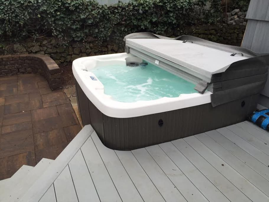 New hot tub for a nice soak