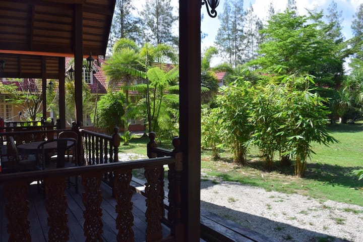 Private Wooden Chalet near to white sandy beach