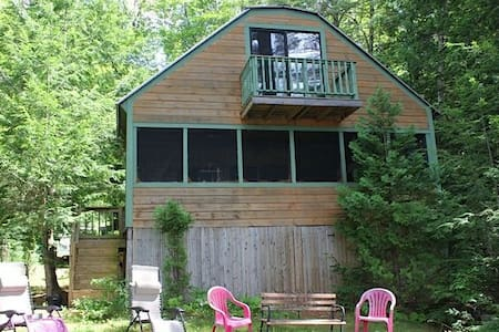 Beautiful cottage on Parker Pond - Fayette - Hus
