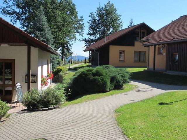 Ferienhaus-Komfort-Ensuite Dusche-Einzelhaus