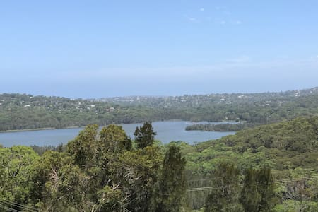 Le Jardin, near beaches, tranquil with great views - Elanora Heights - Casa