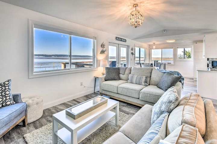 NEW! Puget Sound Home w/ Waterfront Entertainment!