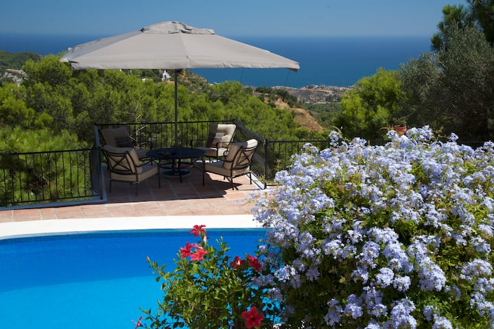 Luxury villa with private pool in Mijas Pueblo