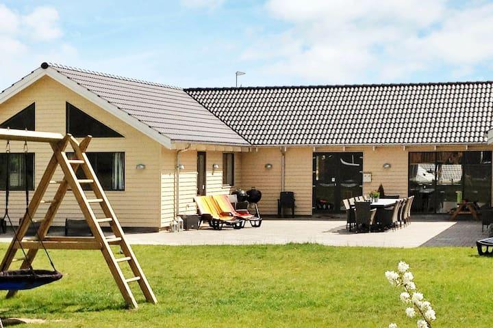 Spacious Holiday Home in Glesborg Near the Ocean