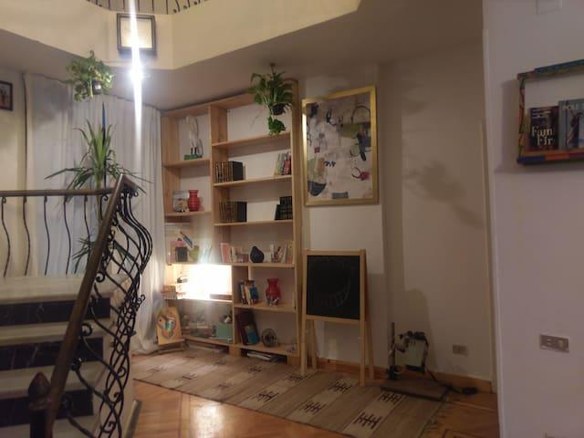 Cosy bedrooms in a quiet, upscale area