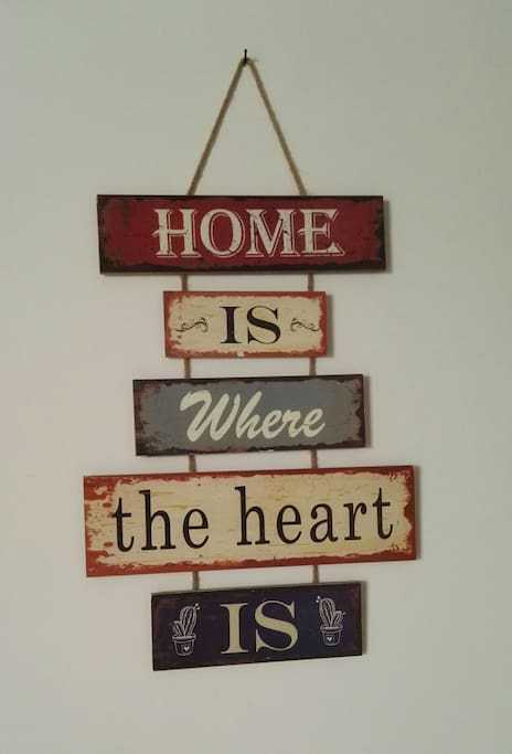 hmm...home is always the best place to be...be relaxed here..