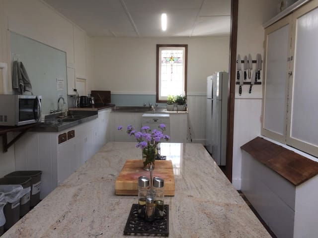lovely historic shared guest kitchen