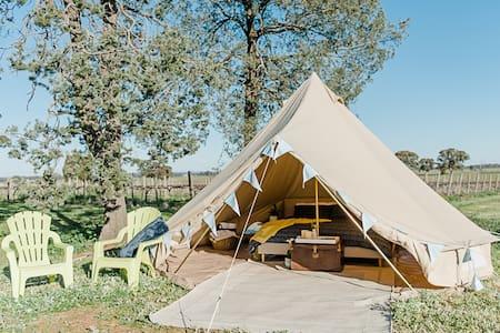 Grapevine Glamping B&B Netherby Tent - Wahgunyah - Teltta