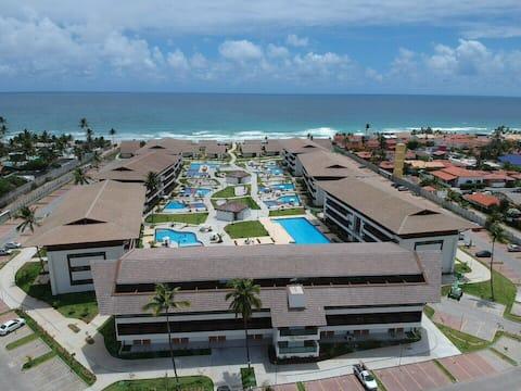 Flat em Resort - Porto de Galinhas - Pé na areia