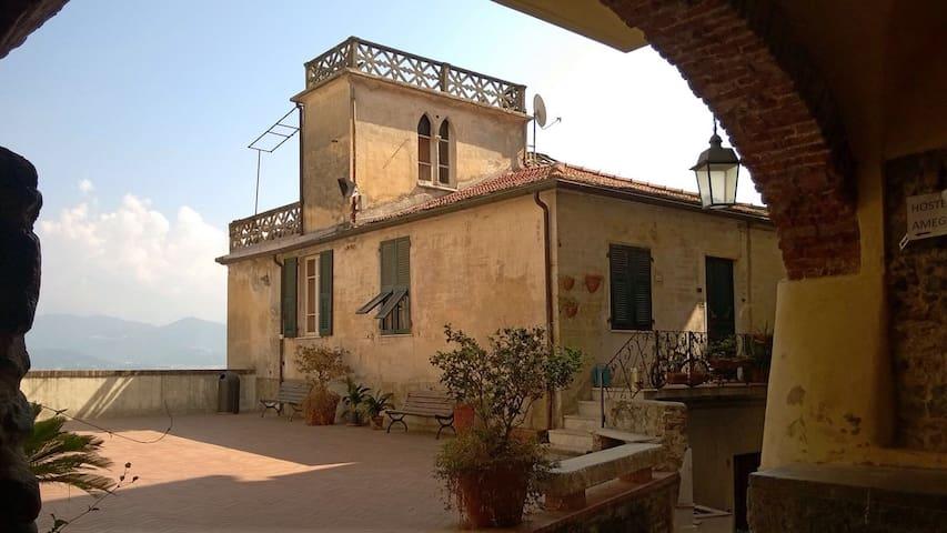 Casa con terrazza vista MagraApuane - Ameglia  - Casa
