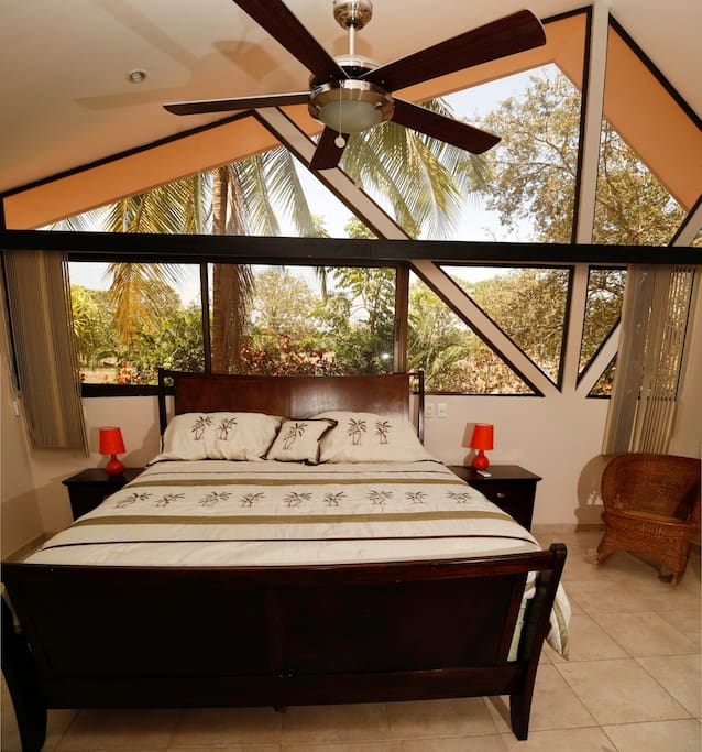 Large Master Suite with King Bed.