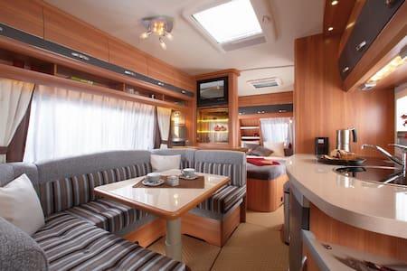Caravane tout confort , proche de Lyon ! - Saint-Quentin-Fallavier