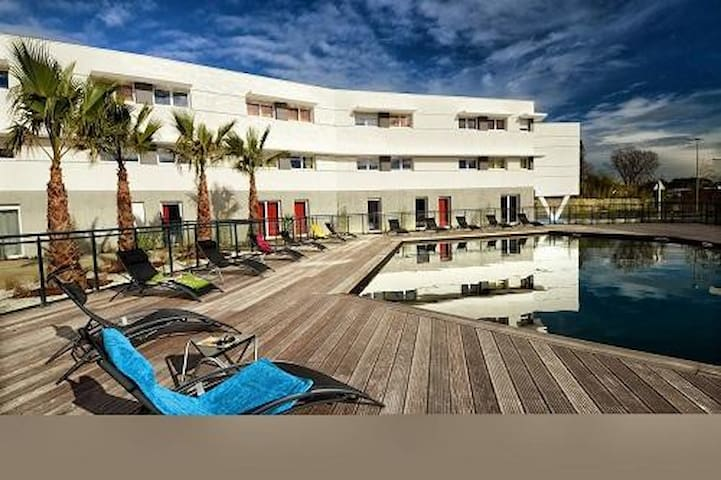 Studios meublés - Saint-Jean-de-Védas - Appartement en résidence