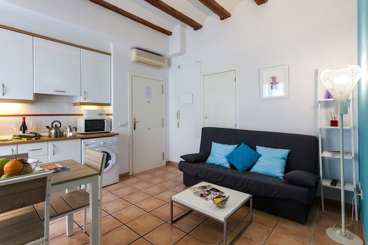 COZY MODERN FLAT IN CITY CENTER (New aircondit.)
