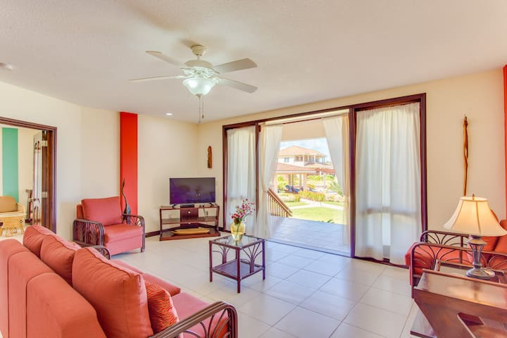 Luxury 2 bedroom 2 Bathroom Beachview Condo Belize