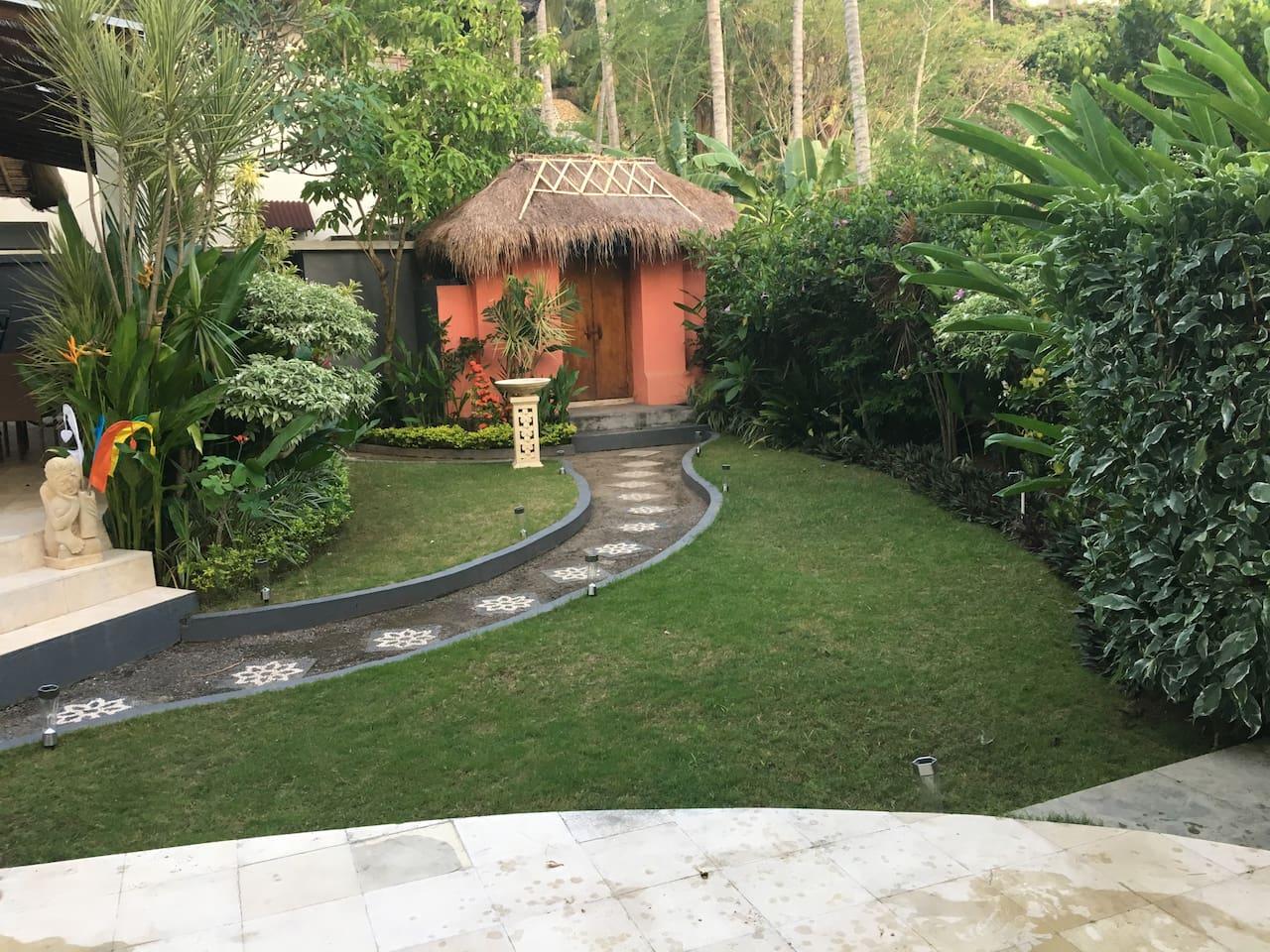 front garden door