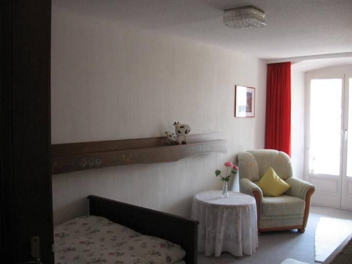 Pension Kaiserhaus, (Ühlingen-Birkendorf), Einzelzimmer 1 mit Dusche/WC und Balkon