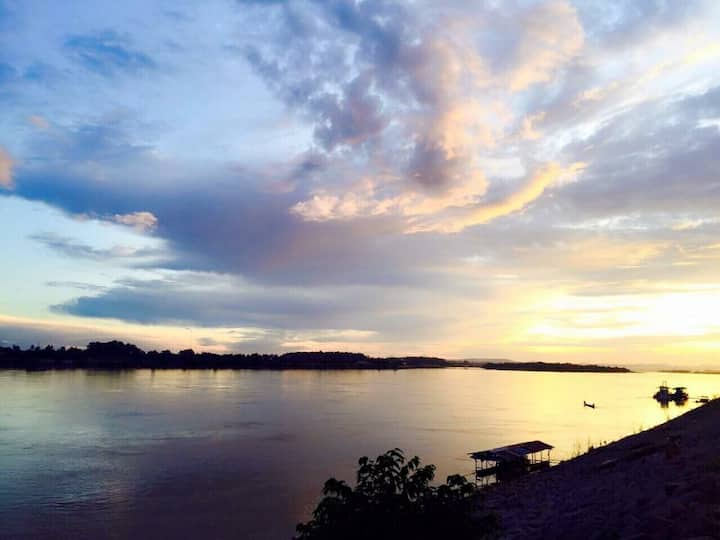 Vientiane in Laos. In the village of Bo Au.