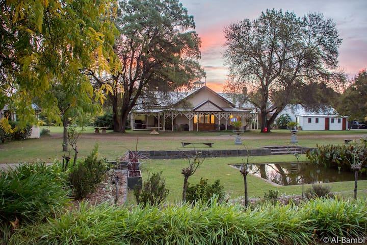 Hurlstone homestead garden room