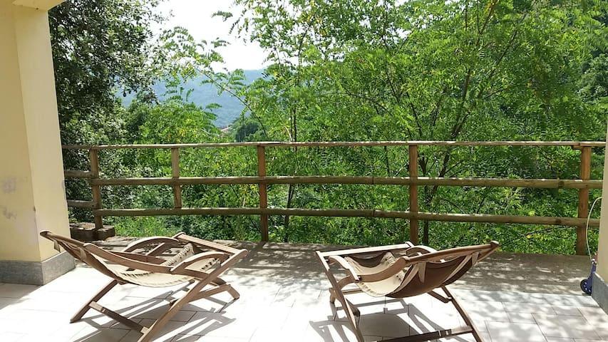 Monolocale relax in collina 12km da SestriLevante
